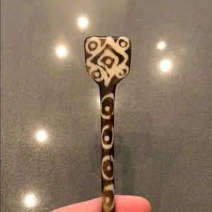 Accessories - Bone hairpin from India
